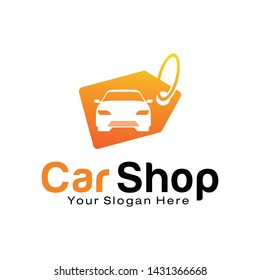 Car Shop logo design template