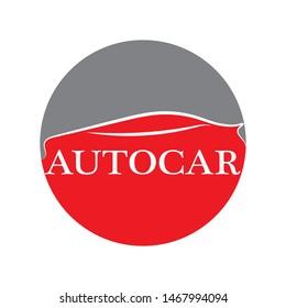 Car silhouette logo Vector template icons app