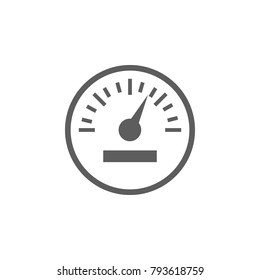 car speedometer icon. Elements of car repair icon. Premium quality graphic design. Signs, outline symbols collection icon for websites, web design, mobile app, info graphic on white background