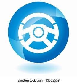 car steering wheel glass