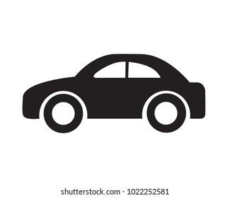 car symbol sign van design vector icon cars race speed black rally transport