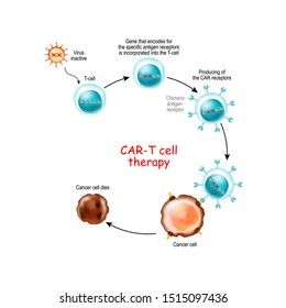 CAR T-cell therapy is a immunotherapy that uses genetically engineered T cells to intensify the immune systems response to cancer.  Chimeric antigen receptor