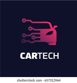 Car Tech Logo Template Designs