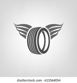 Tire Wings Images Stock Photos Amp Vectors Shutterstock