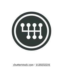 Car Transmission Icon