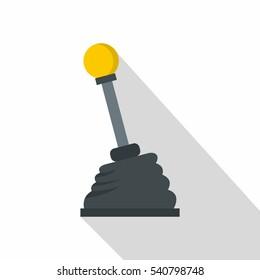 Car transmission icon. Flat illustration of car transmission vector icon for web isolated on white background