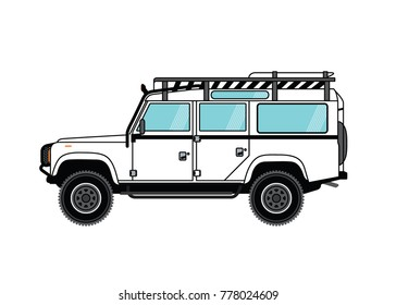 Car Vector Illustration Background