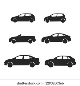 car vector silhouettes