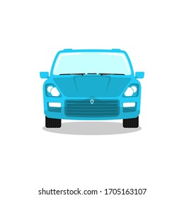 Car vector template Flat style logo icon illustration