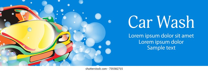 Car Wash Background Stock Illustrations Images Vectors Shutterstock