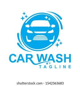 Car Wash, Cleaning Service Logo Design Vector