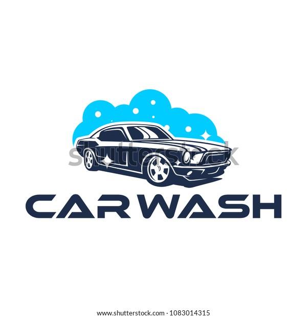 car wash logo design  shutterstock