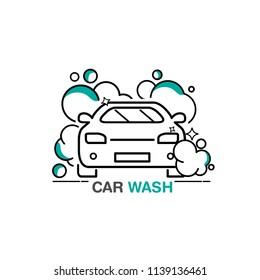 Car Wash Logo Designs