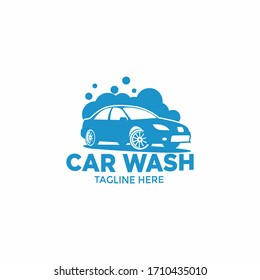 car wash logo fit for your business.isolated white background