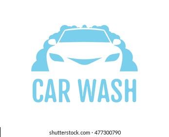 Car Wash Logo Design Vector Car Stock Vector Royalty Free