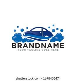 Car wash logo icon vector. Modern design car wash logo template.