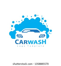 car wash logo with car icons