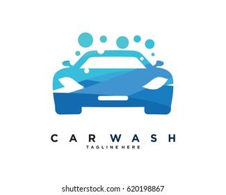 Car Wash Logo Template Design