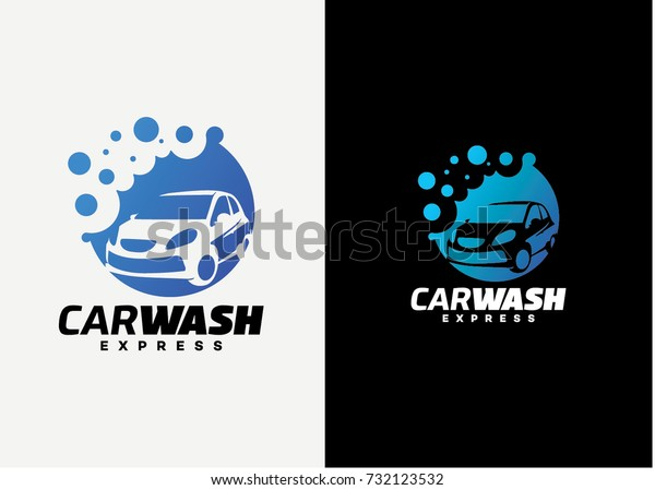 Car Wash Logo Template Design Creative Stock Vector Royalty Free