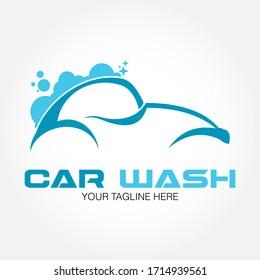 Car Wash Logo Vector Template