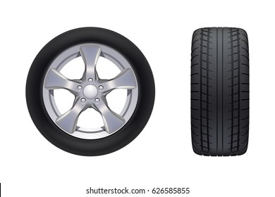 car wheels set
