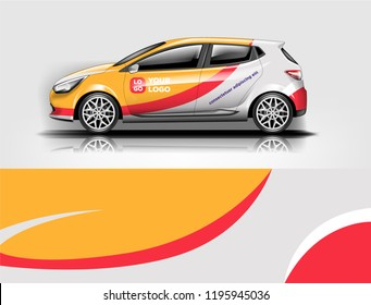 Car wrap design, for branding, services, company.