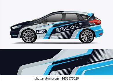 Car wrap design, for branding, services, company.