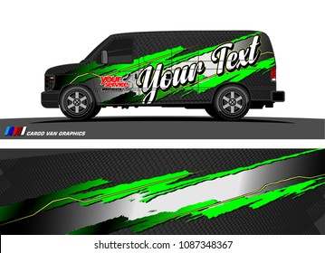 car wrap design vector. abstract splatter with grunge background for vehicle branding