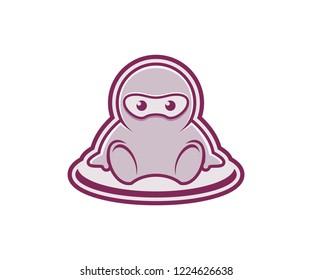 caracter logo design