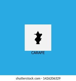 carafe icon sign signifier vector