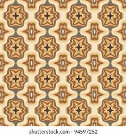 Caramel seamless pattern