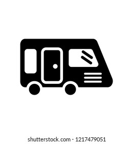 Caravan icon. Trendy Caravan logo concept on white background from Transportation collection. Suitable for use on web apps, mobile apps and print media.