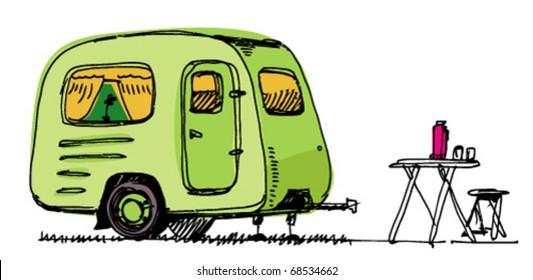 caravan - mobile house