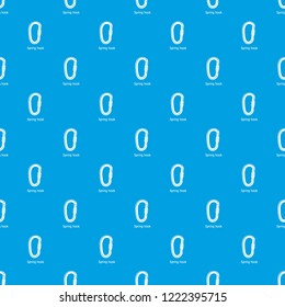 Carbine pattern vector seamless blue repeat for any use