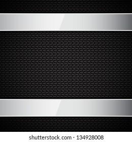 Carbon fiber texture. EPS10 vector
