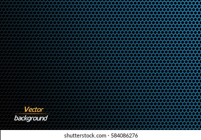 Carbon fiber texture. Vector background. Abstract technology vector template