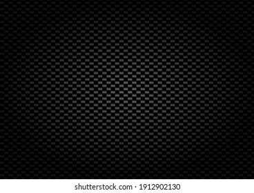 Carbon Fiber Texture Vector Dark background with light for additional decorations.