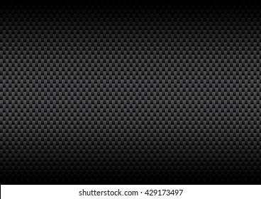 Carbon Kevlar Black pattern for vector