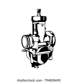 carburetor vector art
