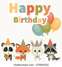 Birthday Panda Images Stock Photos Amp Vectors Shutterstock