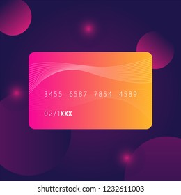card credit business money with bank finance free free vector