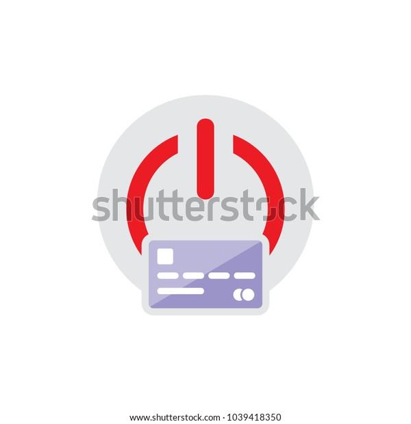 Card Power Logo Icon Design