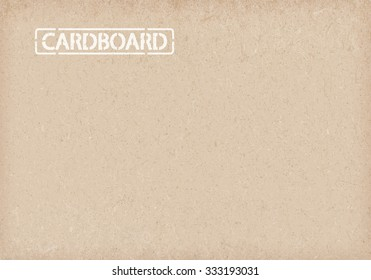Cardboard background. wrapping paper.vector illustration