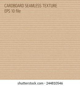 cardboard seamless textured pattern