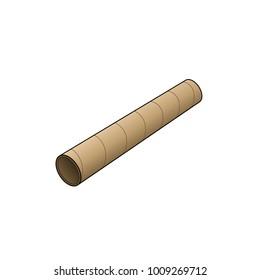 Cardboard Tube Vector