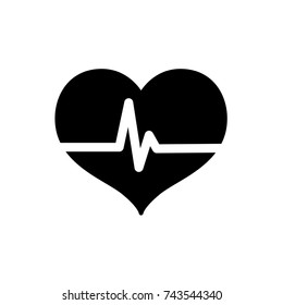 cardiac frequency icon, cardiac frequency icon vector, in trendy flat style isolated on white background. cardiac frequency icon image, cardiac frequency icon illustration