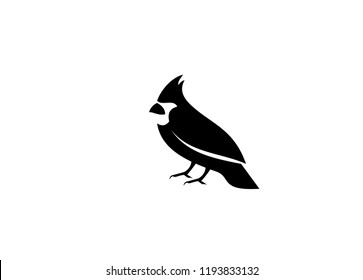 cardinal bird  logo icon designs vector
