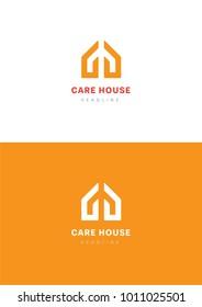 Care house logo template.