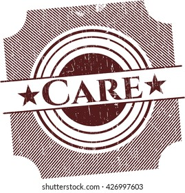 Care rubber grunge seal