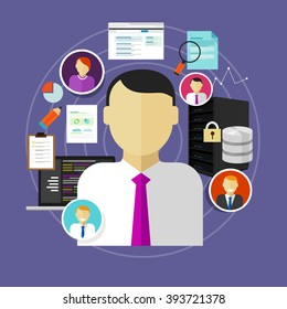career in IT information technology from chief information officer to administrator staff and programmer